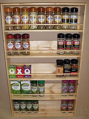 Wooden Spice Rack Wall Mount Interesting 12 Best Spice Racks Images On Pinterest  Wooden Spice Rack Spice Design Ideas