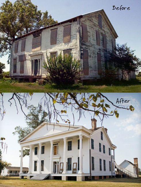 A Mississippi Civil War Era Home Restored Abandoned Restored