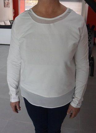 À vendre sur #vintedfrance ! http://www.vinted.fr/mode-femmes/sweat-shirts/30006705-pull-blanc-miss-captain