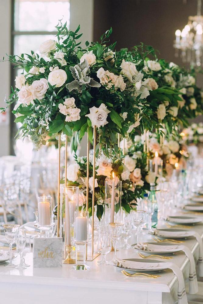 30 Modern Wedding Decor Ideas In 2020 Modern Wedding Decor Wedding Table Centerpieces Elegant Spring Wedding Decorations