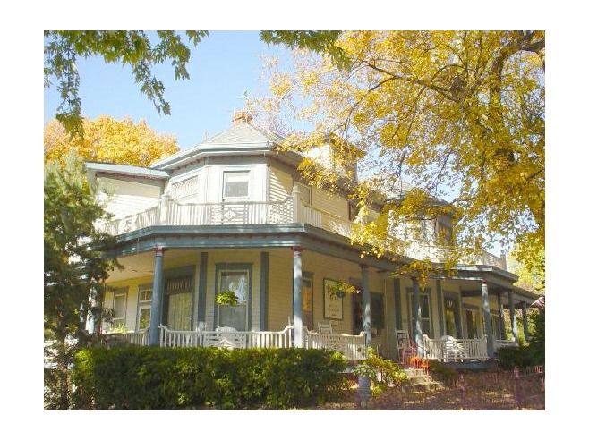 Throwbackthursday located in historic weston missouri for Double storey victorian homes