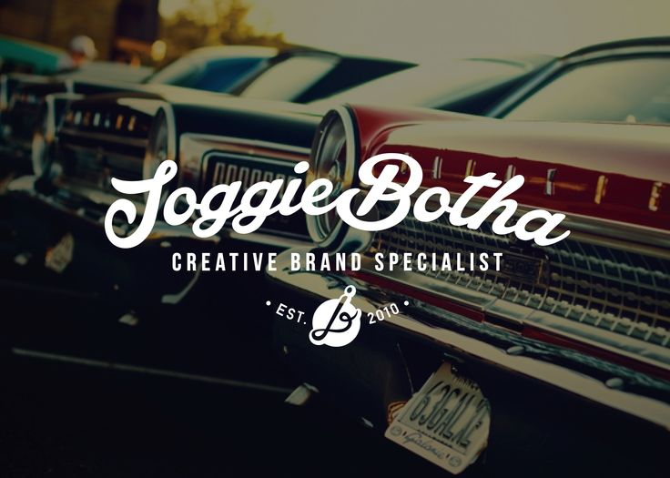 Joggie Botha Logo