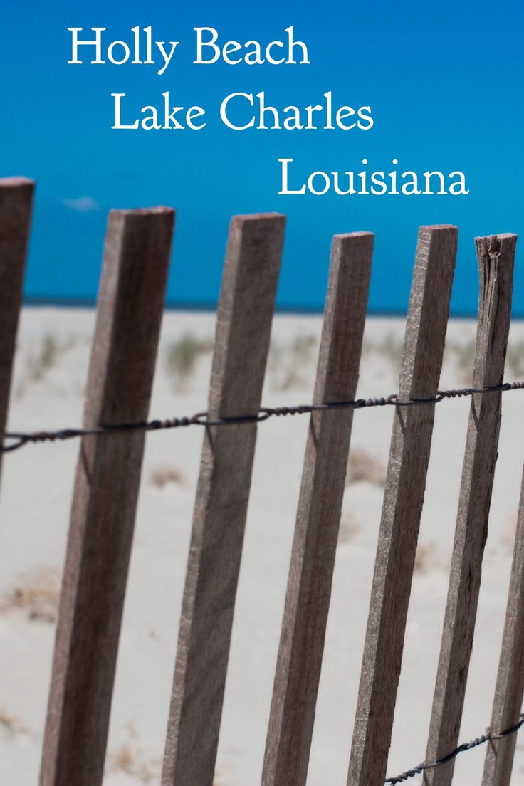 Holly Beach is a tranquil beach near Lake Charles, a quintessential Louisiana City. Beyond the 26 mile coast line, there's so much more to enjoy from cajun food to over 75 festivals each year.