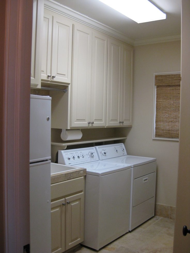 1000 images about laundry room ideas on pinterest for Shelf above washer and dryer