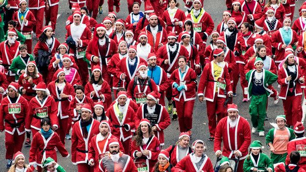 New story on InStyle: 15 of Our Favorite Looks from SantaCon NYC #fashion #fashionnews #instyle