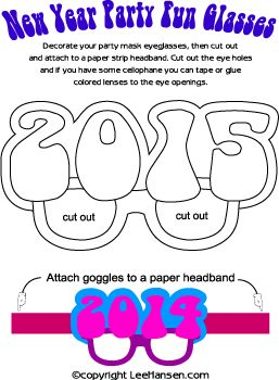 Crafts for Kids - New Year Crafts