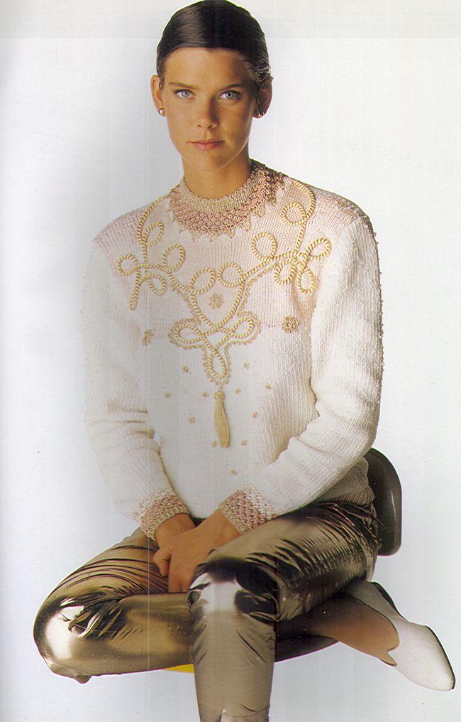 612 best images about anny blatt on Pinterest Knitting kits, Knitting patte...