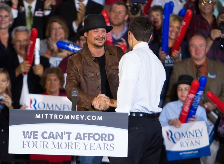 A surprising name has been thrown out as a potential Republican contender for Michigan Democrat Debbie Stabenow's Senate seat next year: Kid Rock.