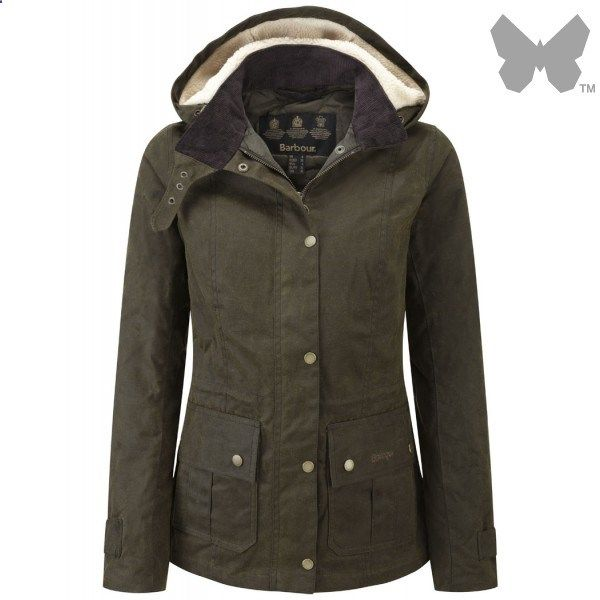 Barbour Ladies' Convoy Jacket – Olive LWX0427OL51 - Ladies Wax Jackets - Ladies Jackets and Coats - WOMEN | Country Attire