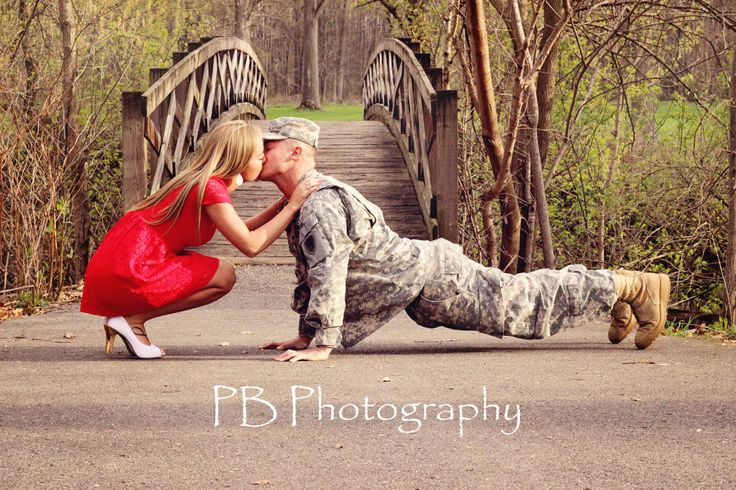 Military couples shoot, copyright of PB photography