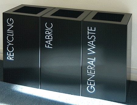 Office Recycling Bin Sorting TWO - Office & Home Office Furniture UK