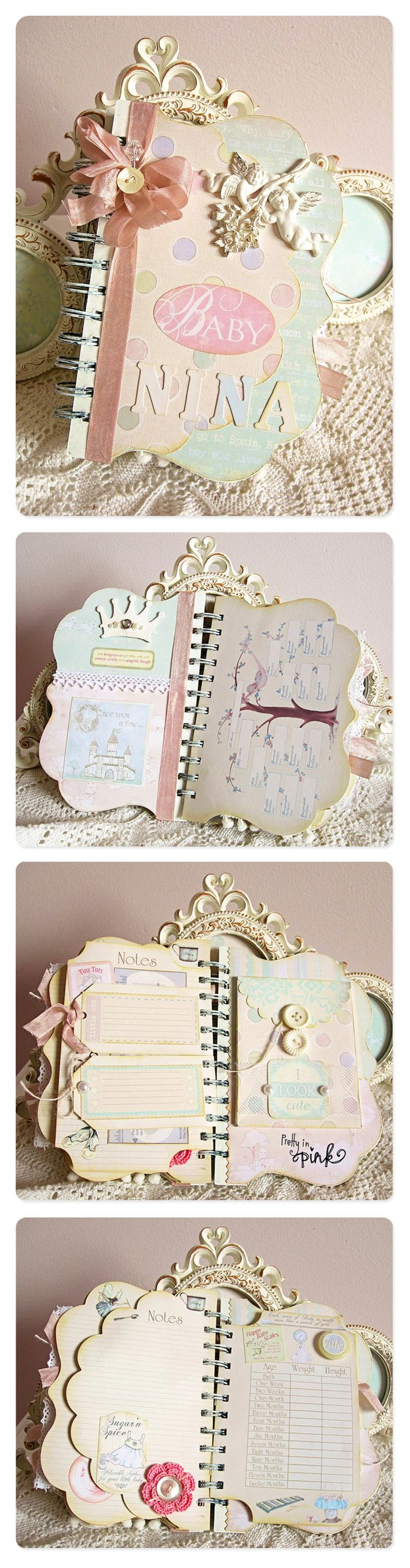 a Russian woman, Yanna, made this baby album