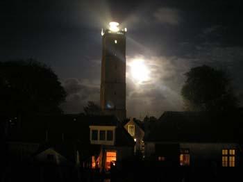 Brandaris by night Terschelling