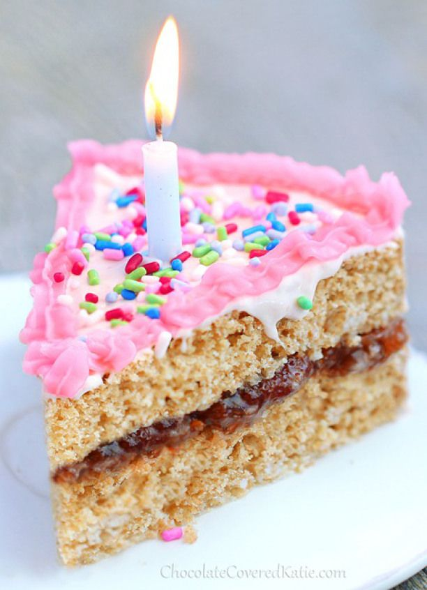 Low sugar chocolate birthday cake Cakes and pastries website photo