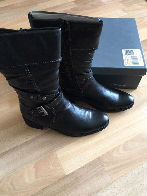 Neue Stiefel von Tamaris mit Schurwolle gefüttert