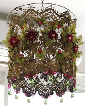 Lace light for madame's boudoir... by Selkie~gal