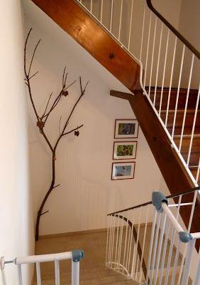 Baum im Treppenhaus