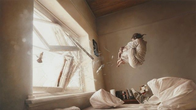 Hyper Realistic Surreal Paintings by Jeremy Geddes