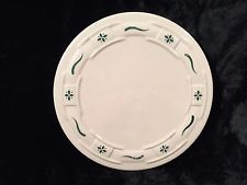 Longaberger Pottery Woven Traditions Trivet/Hot Plate Green $10