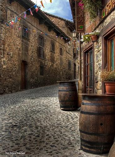 Potes #Cantabria #Spain #Travel #banderas