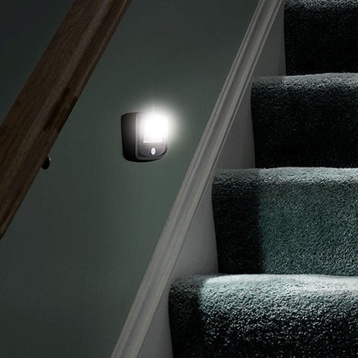 Mr Beams Outdoor Wireless Motion Sensing LED Step/Stair Light, Brown  (2 Pack)