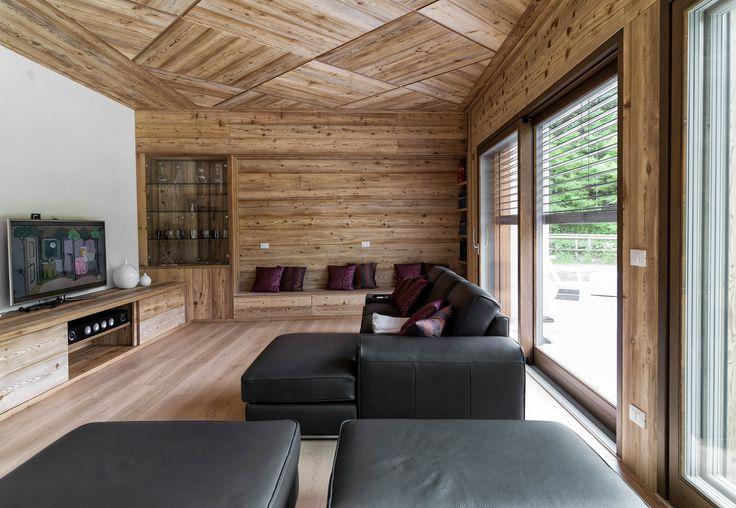 passione legno casa realizzata a belluno heidis pinterest haus woods and house. Black Bedroom Furniture Sets. Home Design Ideas