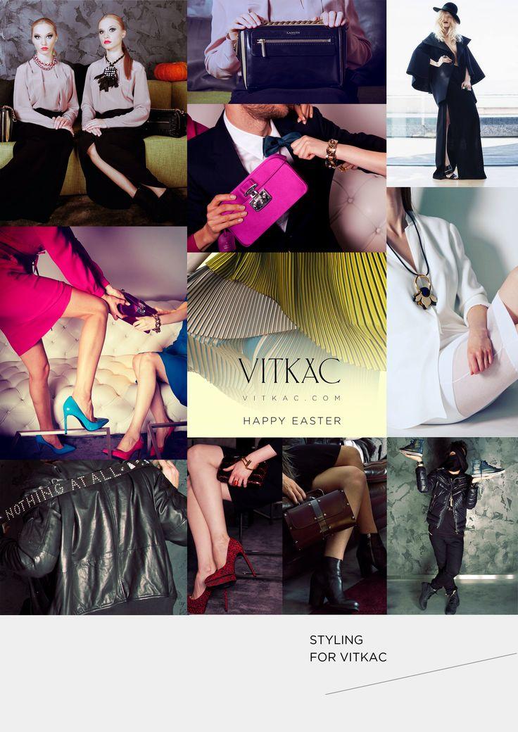 styling for VITKAC photo shoot production &  styling Anna Fludra
