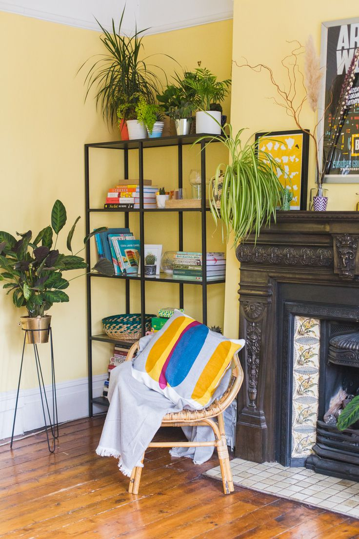 Eclectic living room filled with plants - I'm sharing some insightful reads and inspiring feeds for your lunch break or commute.