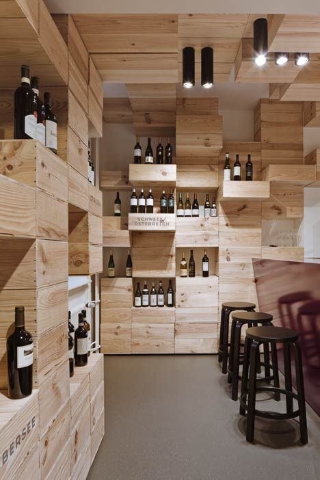Wine Storage Walls | Rustix Furniture