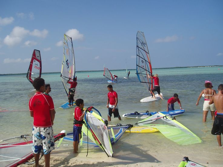 Windsurfing Kid's Bliss