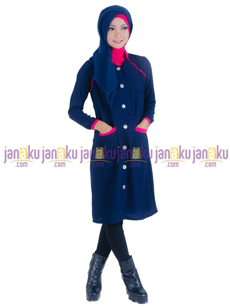 Vannara 1113329 - Busana muslim vannara dengan bahan wolly crape yang nyaman di pakai