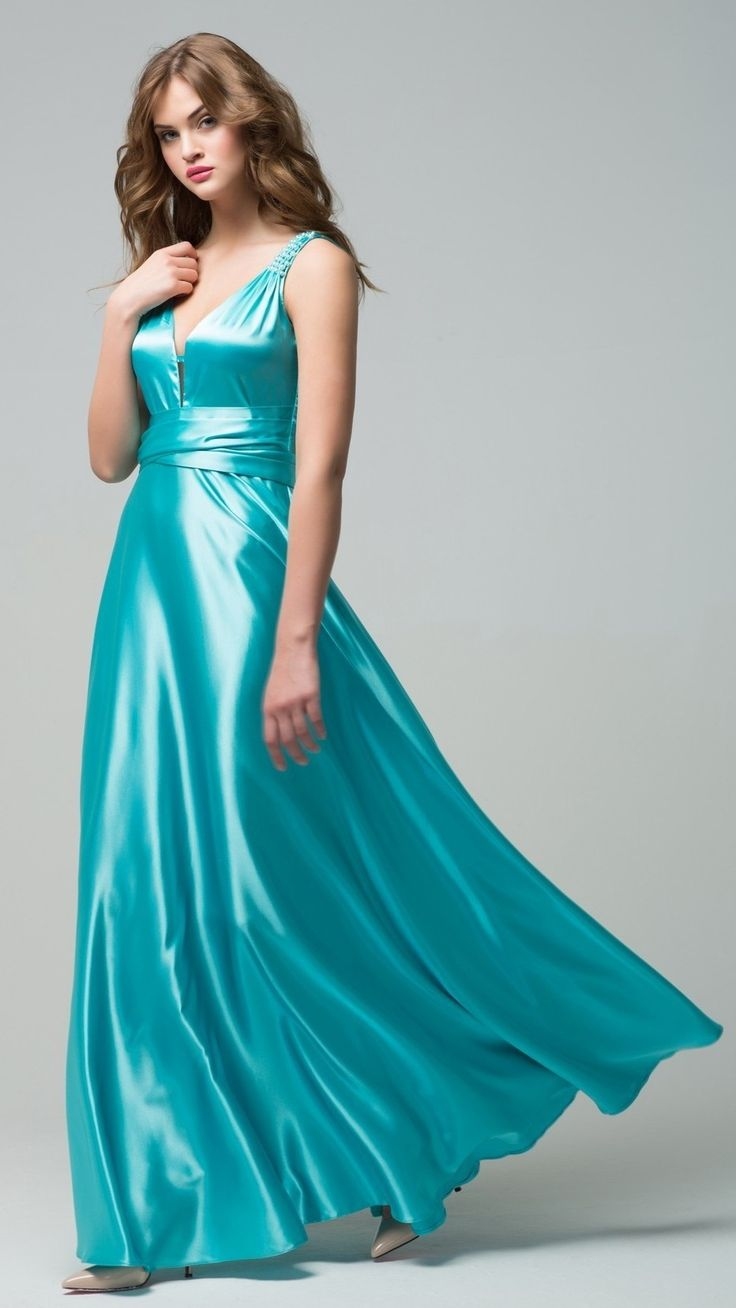 5615 best satin dress images on Pinterest | Party wear dresses, High ...