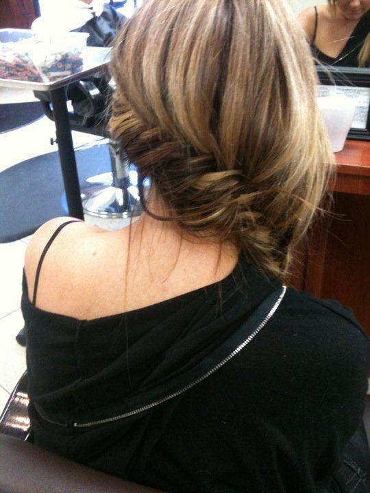 side fish tail braid!