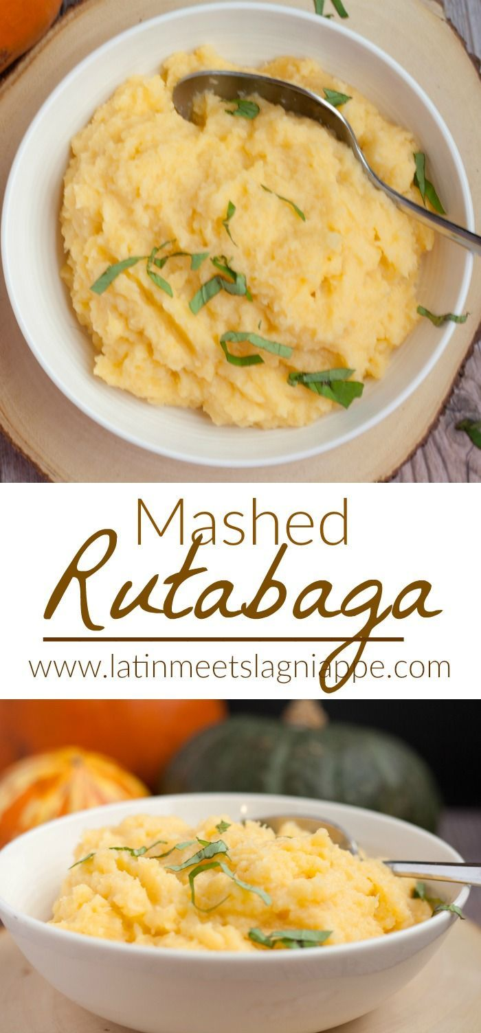 This simple mashed rutabaga recipe is always a favorite on our Thanksgiving table.