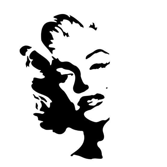 Stencil Famosos 10 x 10cm - OPA 361 - Stencil 10 x 10cm - Stencil ou molde vazado - Empório Janial