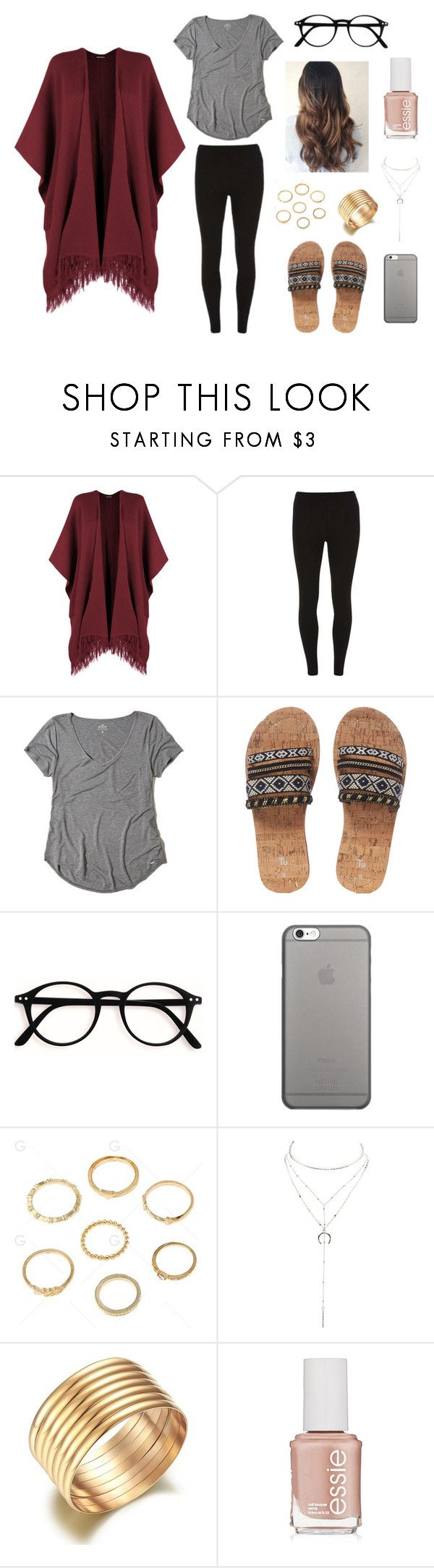 """""""Trendy Outfits"""" by coldplay-shirt on Polyvore featuring WearAll, Dorothy Perkins, Hollister Co., Native Union, Charlotte Russe and Essie"""
