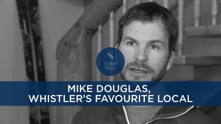 From the slopes of Whistler, BC, Steve Young interviews Mike Douglas — father, freeskier, filmmaker, and, most recently, Whistler's favourite local.