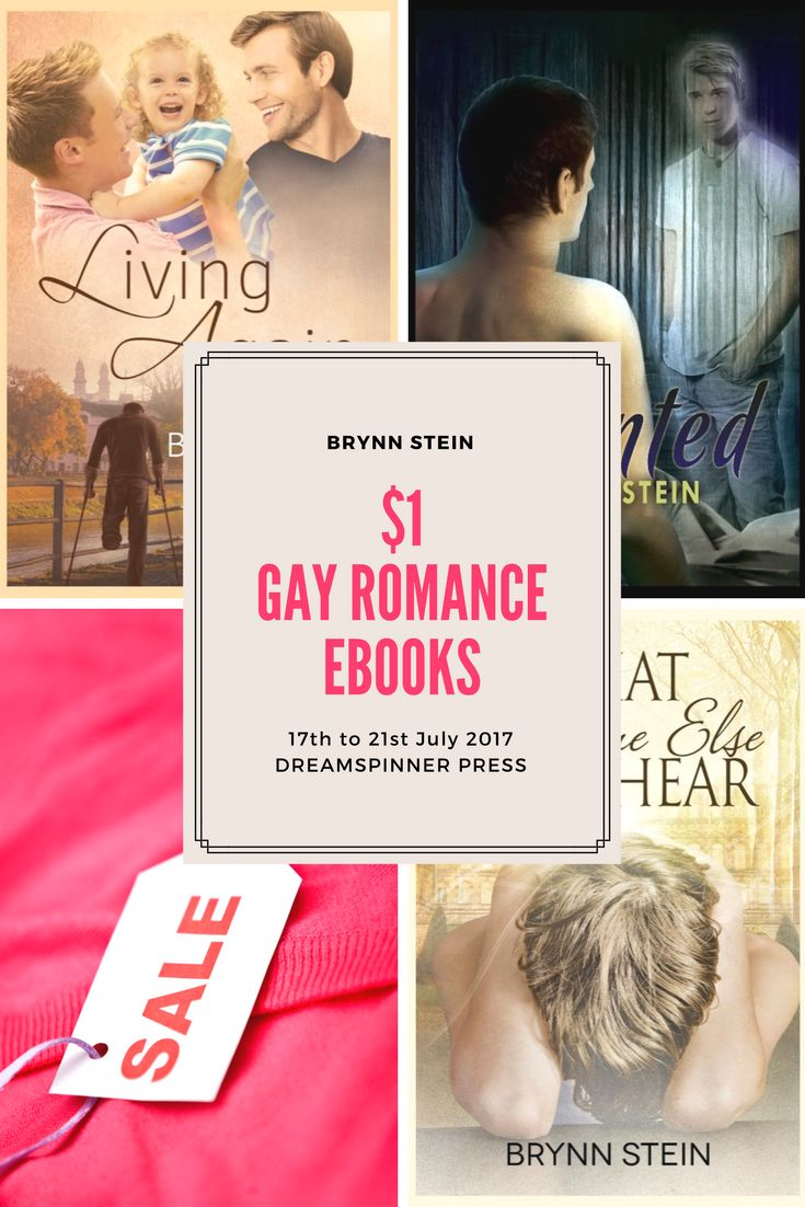 $1 ebooks from Brynn Stein for a limited time dreamspinner press | gay romance |mm romance