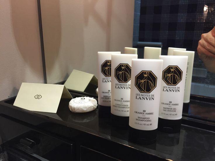Lanvin Bathroom Amenities
