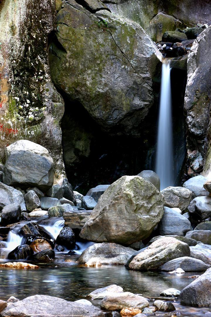 Saitabat waterfall in Bursa, Turkey.