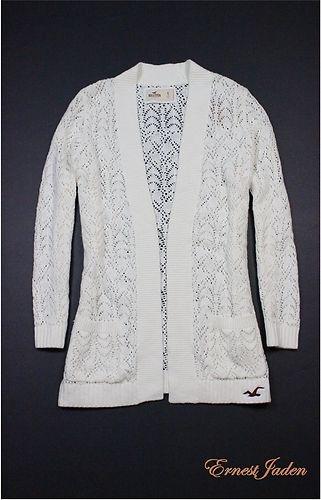 2012 New Hollister by Abercrombie Womens Classic Logo Sweatshirt Sweater L | eBay