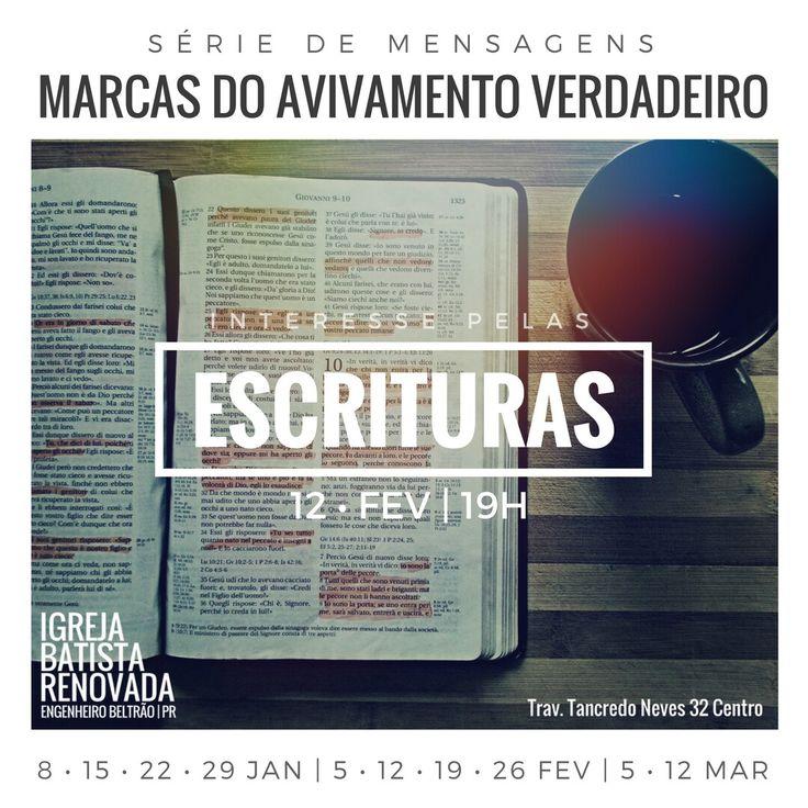 #marcasdoavivamentoverdadeiro #ibr #engenheirobeltrao #igreja #bíblia #escrituras