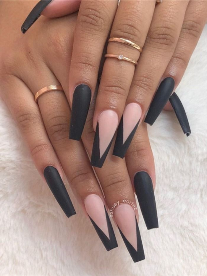 13 Coffin Acrylic Nail Design Miss Patches Acrylic Nail Designs Coffin Long Coffin Nails Design Coffin Nails Designs