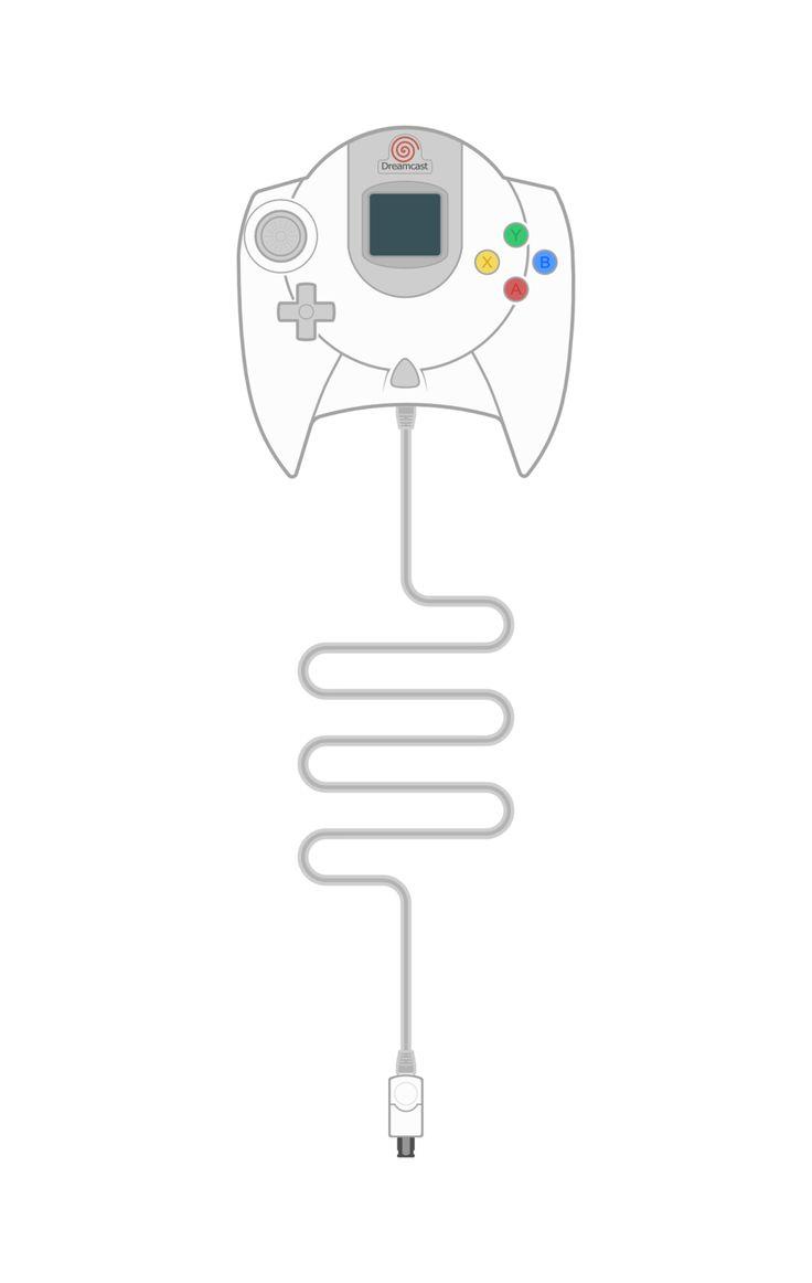The Best :: White Version by afo-art.deviantart.com on @deviantART - Sega Dreamcast White Controller