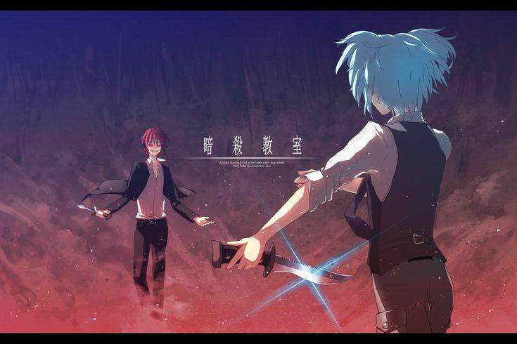 Anime Assassination Classroom  Nagisa Shiota Karma Akabane Wallpaper