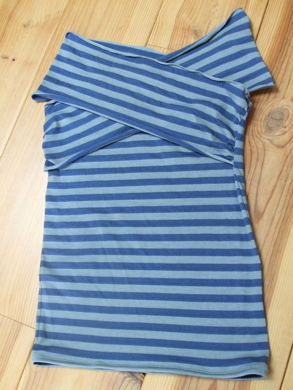 Une idée pratique et jolie : le haut d'allaitement en jersey. Le tutoriel est très bien.