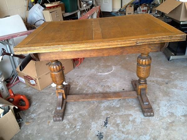 Exceptionnel Stylist Notes: Great Traditional Style Real Wood Could Need Refinishing  (example Example Unsure Of Condition, See In Person Go To Craigslist Post:  Antique ...