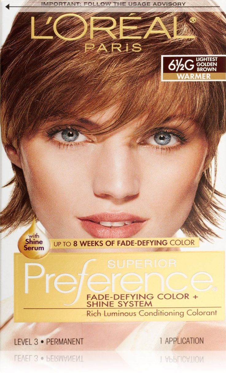 Loreal hair color quiz - Loreal Preference 6 5g Lightest Golden Brown