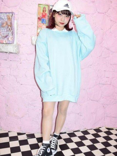 プルオーバーのスウェット♪ 裏原系タイプのファッション スタイル参考コーデ♡
