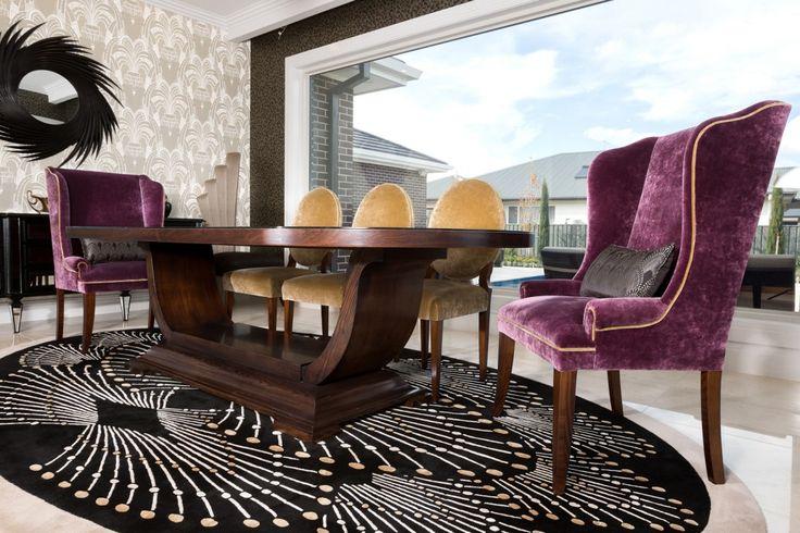Contemporary Art Deco Rug